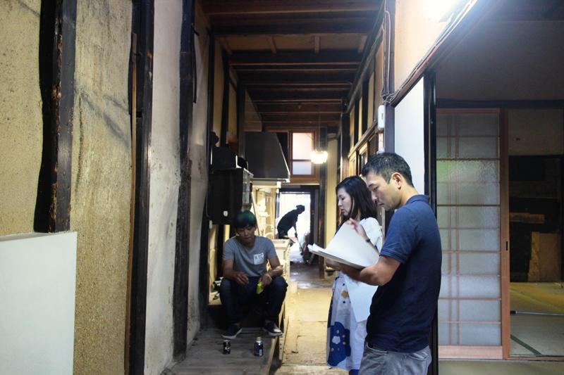 京都の町家ゲストハウスの改装日記